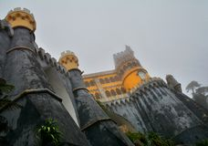 Pena Palace , Sintra Royalty Free Stock Images
