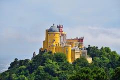 Sintra, Portugal, palácio do nacional de Pena Foto de Stock