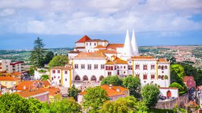Sintra National Palace stock video