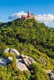 Panorama of Pena National Palace Royalty Free Stock Photo