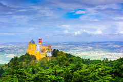 Sintra, Portugal View Royalty Free Stock Photography