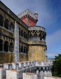 Sintra Portugalia, Lipiec, - 2 2010: Pena obywatela pałac Fotografia Royalty Free