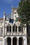 SINTRA Portugalia, PAŹDZIERNIK, - 25 2014: Zamyka w górę szczegółu Sintra urzędu miasta budynek, Portugalia Obraz Royalty Free