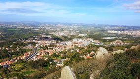 Sintra, Sintra Castle and Nature Royalty Free Stock Image