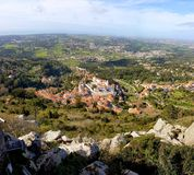 Sintra, Sintra Castle and Nature Royalty Free Stock Images