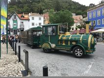 Sintra-Stadtzentrum Stockbilder