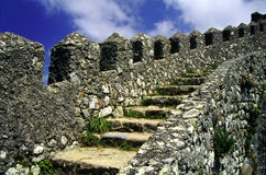 Sintra Stairs. Stairs leading to an abandoned castle in Sintra, Portugal Stock Images