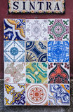 Sintra Tiles Stock Image