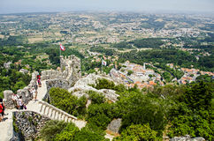 Sintra from the top Stock Images