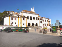 Sintra Town National Palace,  Portugal Stock Photography