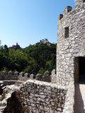 Sintra: two castles Royalty Free Stock Photo