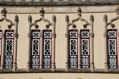 Sintra urzędu miasta budynku okno Sintra barokowy zarząd miasta Obrazy Stock