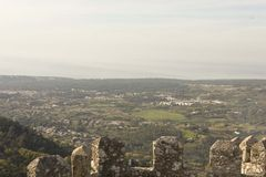 Sintra Valley overview Royalty Free Stock Photography