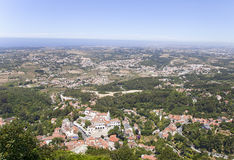 Sintra, view from above Royalty Free Stock Photo