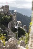 Sintra portugal with moorish castle Royalty Free Stock Images
