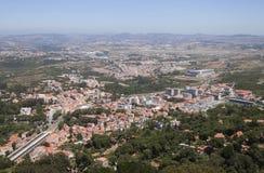Sintra, vista da sopra Fotografie Stock Libere da Diritti