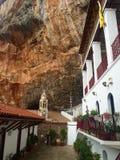 Sintza的圣尼古拉修道院  库存照片