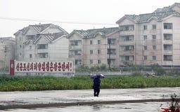 Sinuiju 2013 van Noord-Korea Royalty-vrije Stock Fotografie
