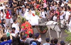 sinulog парада торжества cebu Стоковое Изображение