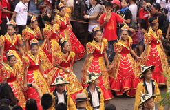 sinulog парада торжества cebu Стоковое фото RF