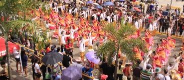 Sinulog Cebu Parade Celebration Stock Images