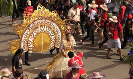 Sinulog Cebu Parade Celebration Stock Image