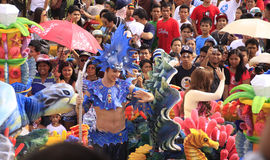 Sinulog Cebu Parade Celebration Stock Photo