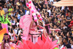 Sinulog Cebu Parade Celebration Stock Images