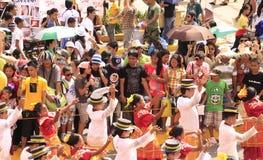 Sinulog Cebu Parade Celebration Stock Photos
