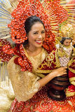 Sinulog dancer Royalty Free Stock Photos