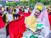 2018 Sinulog festival Royalty Free Stock Photography