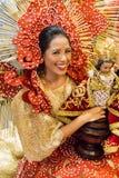 Sinulog tancerz Zdjęcia Royalty Free