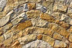 sinuous vägg för bakgrund Arkivbild