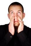 Sinus Pressure Royalty Free Stock Image