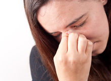Sinus Pressure Royalty Free Stock Photography