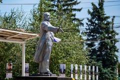 SINYAVSKOYE ROSJA, CZERWIEC, -, 2017: LENIN zabytek Zdjęcia Royalty Free