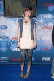 Siobhan Magnus. At Fox's American Idol Top 12 Finalists Party, Industry, West Hollywood, CA. 03-11-10 Stock Images