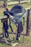 Siodła dla jechać konia zdjęcie royalty free