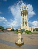 Siofok水塔,匈牙利 免版税库存照片