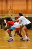 Siofok - Angola handball game Stock Image