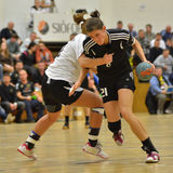 Siofok - Budapest handball match Stock Images