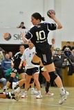Siofok - Budapest handball match Royalty Free Stock Photo