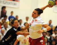 Siofok - debrecen handball match Royalty Free Stock Images