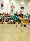 Siofok - Gyor handball match Royalty Free Stock Photos