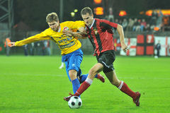 Siofok - Honved soccer game Stock Photography