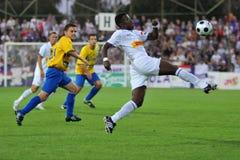 Siofok - Ujpest soccer game Stock Photo