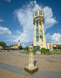 Siofok wieża ciśnień, Węgry Zdjęcia Royalty Free