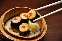 Siomay (steam) Royalty Free Stock Photo