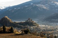 Sion, Switzerland Royalty Free Stock Photography