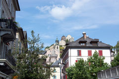 Sion, Valais, Switzerland Stock Photos